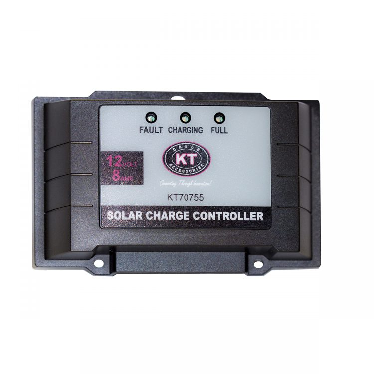 KT Solar Accessories - Solar Panel Regulator 12V 8Amp (KT70755)