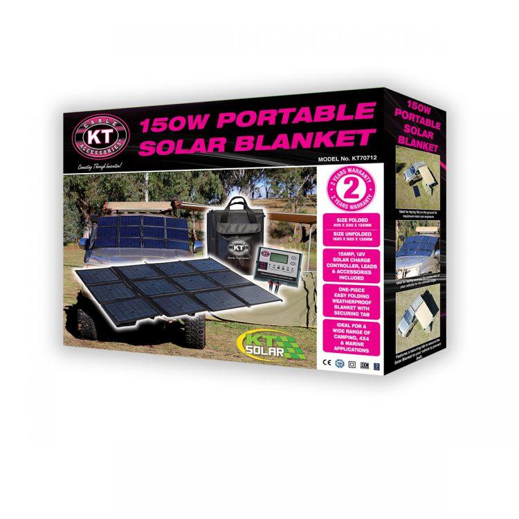 KT Solar - Solar Blanket Portable 150 Watt (KT70712)