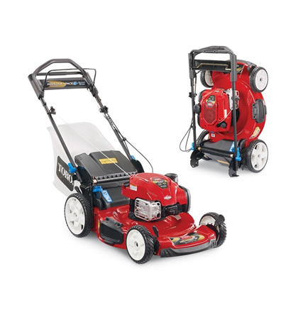 Toro Recycler 22 Inch (56 cm) SMARTSTOW Personal Pace High Wheel Mower (20340)