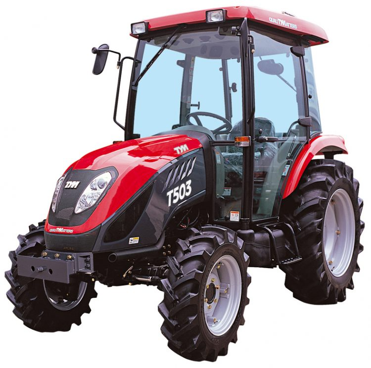 TYM T503 Cabin Utility Tractor