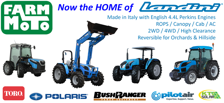 slider image - Slide 2018 Q3 01 – Farm Moto now the home of Landini